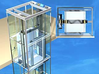 Aufzug modell